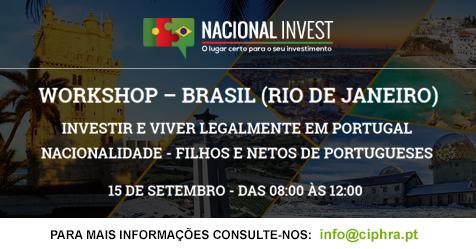 """cf543bae58 Workshop  """"Investir e Viver Legalmente em Portugal"""""""
