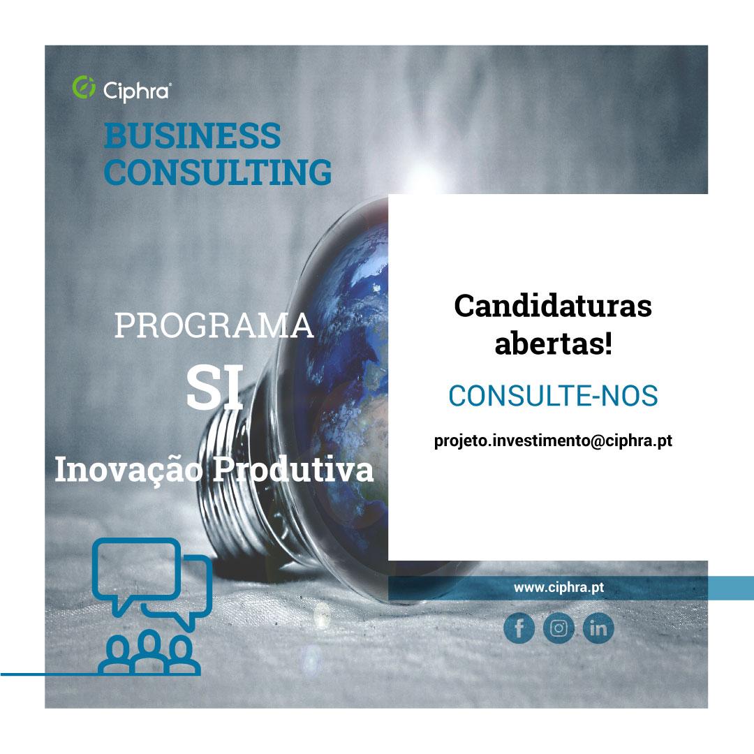 Candidaturas Abertas - SI Inovação Produtiva